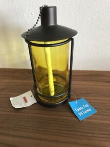 Image Is Loading New Modern Style Gl Citronella Oil Lamp Table