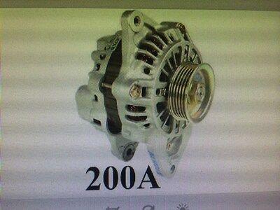 200 AMP 13786 Alternator Mitsubishi Montero 3.5L  High Output Performance NEW HD