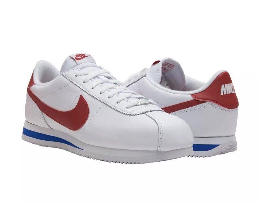 Nike cortez di cuoio og forrest gump misura bianco rosso (882254-164) misura gump 10,5 Uomo 8fac39