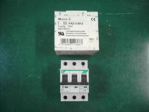 Moeller commutateur de protection de ligne faz-3-b13
