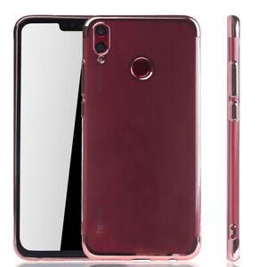 Huawei-Honor-8x-Housse-etui-portable-Cover-De-Protection-Sac-Housse-de-protection-anti-chocs-pink