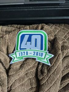 Vancouver Canucks 40th Anniversary Patch *Correct One