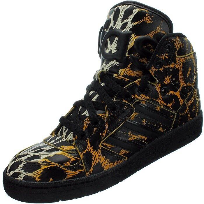 Adidas Js Instinct Hi Leopard high-top-zapatilla de deporte Cuero Jeremy Jeremy Jeremy scott-edition Nuevo ff3764