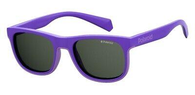 Occhiali Da Sole Sunglasses Polaroid Pld 8035 S B3v M9 Viola Polarizzato 100% Colori Armoniosi