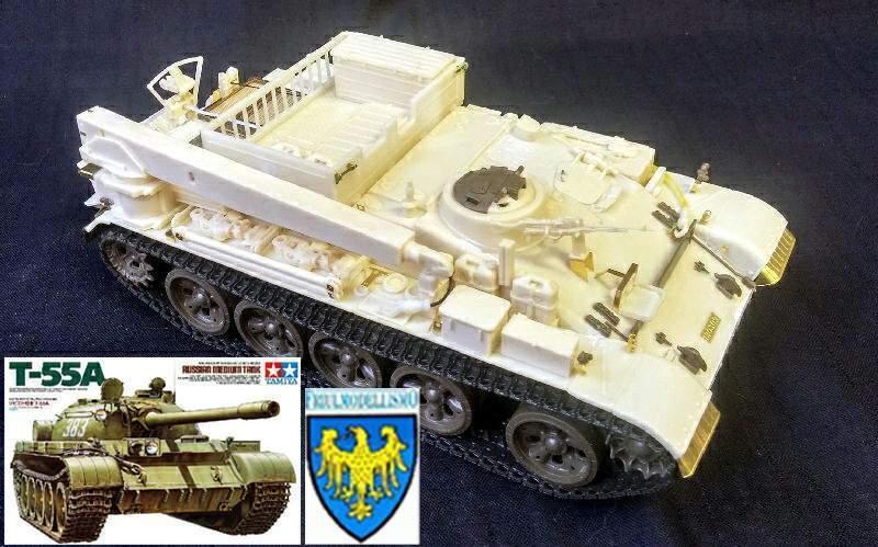 IDF VT-55 & Tamiya T-55A & Friul ATL-01 COMBI set 1 35 PanzerShop