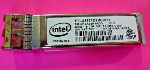 GENUINE Dell 10Gb SFP SR Optical Transceiver Module FTLX8571D3BCV1T1 Y3KJN