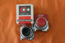 Cutler Hammer Roto Push Operator Button T2411 Red Stop Emergency Steampunk N00