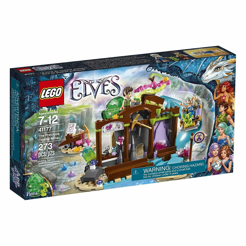 Lego alver 441177 Den dyrbara CRYSTAL MINE Naida Floria Dragon Ny