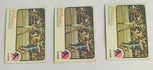 1973-Topps-Willie-Stargell-Pittsburgh-Pirates-HOF-370-3-CARD-LOT