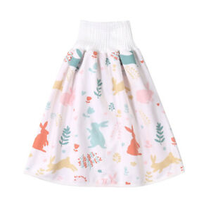 Comfy Childrens Diaper Skirt Shorts Waterproof and Absorbent Shorts for Toddlers 0-8Years Baby