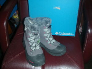 2994e311f671 Columbia Youth Bugaboot Plus II Omni-Heat Boot SZ 6 GIRLS YOUTH ...