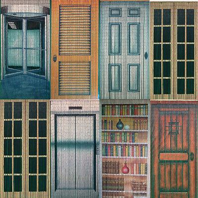 Bamboo Beaded Handmade Curtain Beads Window Door Room Divider Multi Door Pattern