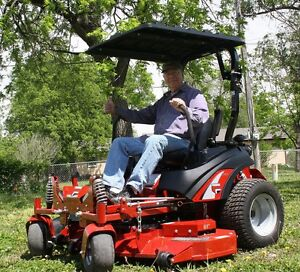 Image is loading RhinoHide-Tractor-Mower-Canopy-sunshade -fits-everything-with- & RhinoHide Tractor / Mower Canopy sunshade fits everything with a ...