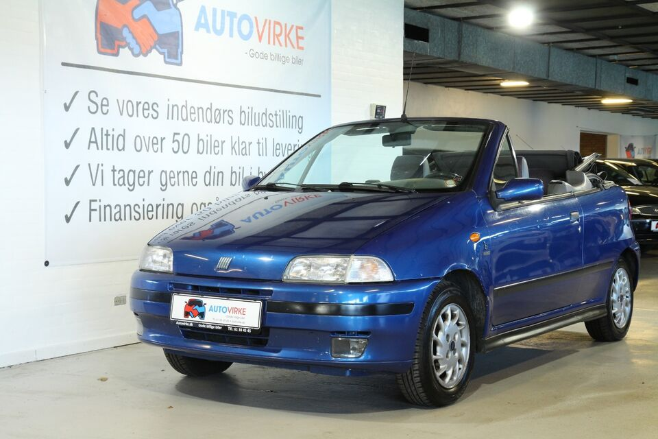 Fiat Punto 1,6 90 ELX Cabriolet Benzin modelår 1995 km