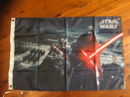 dark side man cave flag poster banner darth Vader Star Wars storm trooper Jedi