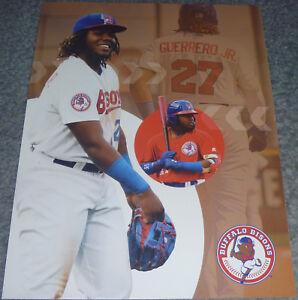 AUTHENTIC-Buffalo-Bisons-VLADIMIR-GUERRERO-JR-Poster-SGA-jersey-vlad-card-rookie