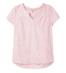 Joules-Gemma-Top-Red-Stripe-Now-With-30-Off