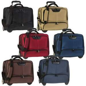 "Dermata Business Laptop Notebook Voyage Pilotes Valise Trolley XL 17 "" LyiO7X8t-07141720-358639494"
