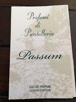 Profumi Di Pantelleria Passum Luxury Edition Eau De Parfum 0.05oz/1.5ml Sample