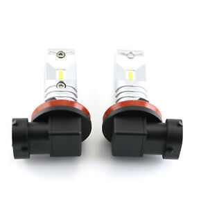 For Toyota Highlander 2008-2010 White LED Fog Light Bulb Combo