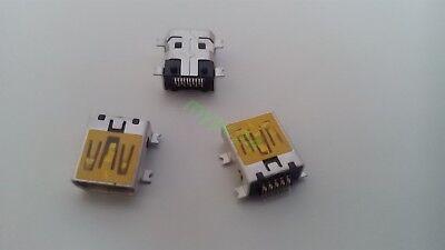 10 Stück Mini USB Buchse 5Pin Einbaubuchse SMD SMT Typ B  zB Navi PC Navigon MP3