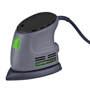 Electric Corded Sander Palm Grip 80, 120, 240 grit sand paper included