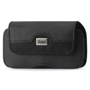 Black-Reiko-Faux-Leather-Belt-Clip-Case-Pouch-Cover-for-Samsung-Galaxy-S3-Mini