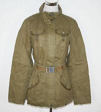 EDC by ESPRIT Jacke Parka Field Jacket Belmont Beige khaki Gr. 36 NEU UVP 99,99€
