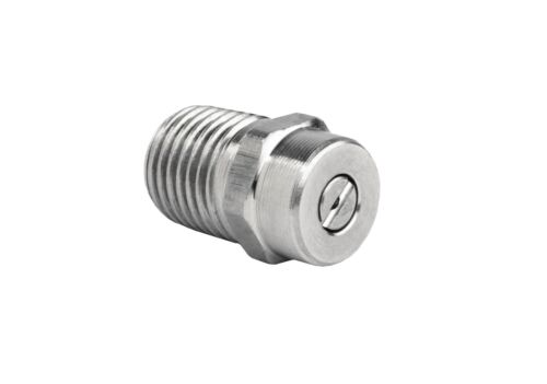 "Pressure Washer Jet Wash Nozzles 1//4/""M Stainless Steel Angles 0° 15° 25° /& 40°"