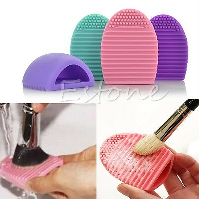 Cleaning Cosmetic Makeup Brush Tool Silicone Cleaner Finger Glove Foundation New