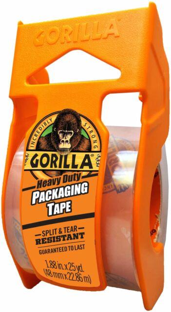 """Gorilla Heavy Duty Packaging Tape 1.88""""X25yd-Mini -6034002"""