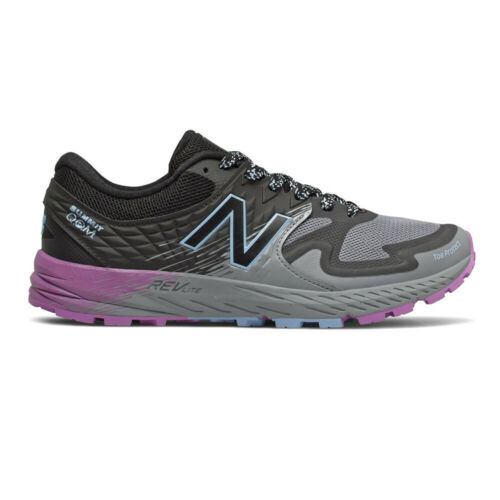New Balance Womens Summit Q.O.M Trail Running Shoes Trainers Sneakers Black Grey