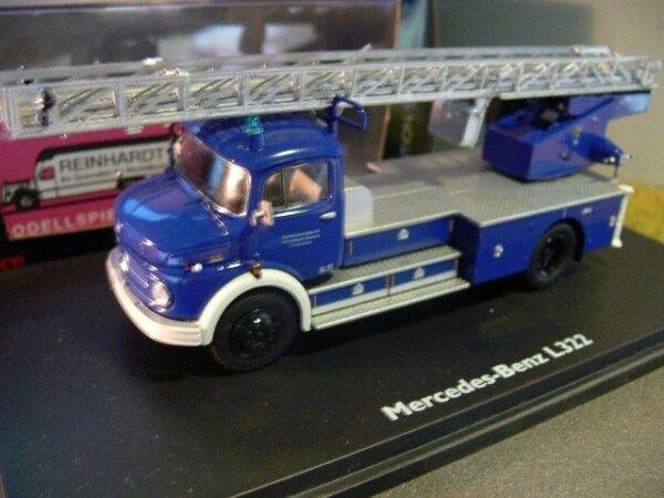 1 43 Schuco MB L 322 Mertz DL 22 THW 03266