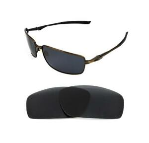Image is loading NEW-POLARIZED-BLACK-REPLACEMENT-LENS-FOR-OAKLEY-SPLINTER- e843034fd861