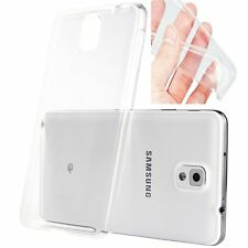 Clear TPU Soft Case Protective Cover Skin For Samsung Galaxy Note 3 III N9000