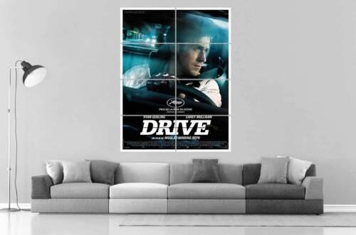 DRIVE  AFFICHE CINEMA OFFICIEL  Poster Grand format A0 Large Print