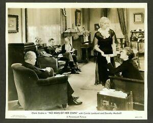 CAROLE-LOMBARD-CLARK-GABLE-ORIGINAL-PHOTO-034-NO-MAN-OF-HER-OWN-034-PRE-CODE-1932