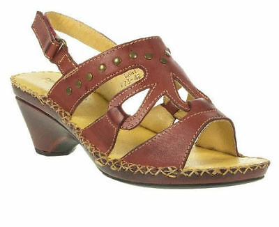 LADIES PADDERS LEATHER OPEN TOE BUCKLE LOW WEDGE WIDE SUMMER SANDALS BLUEBELL