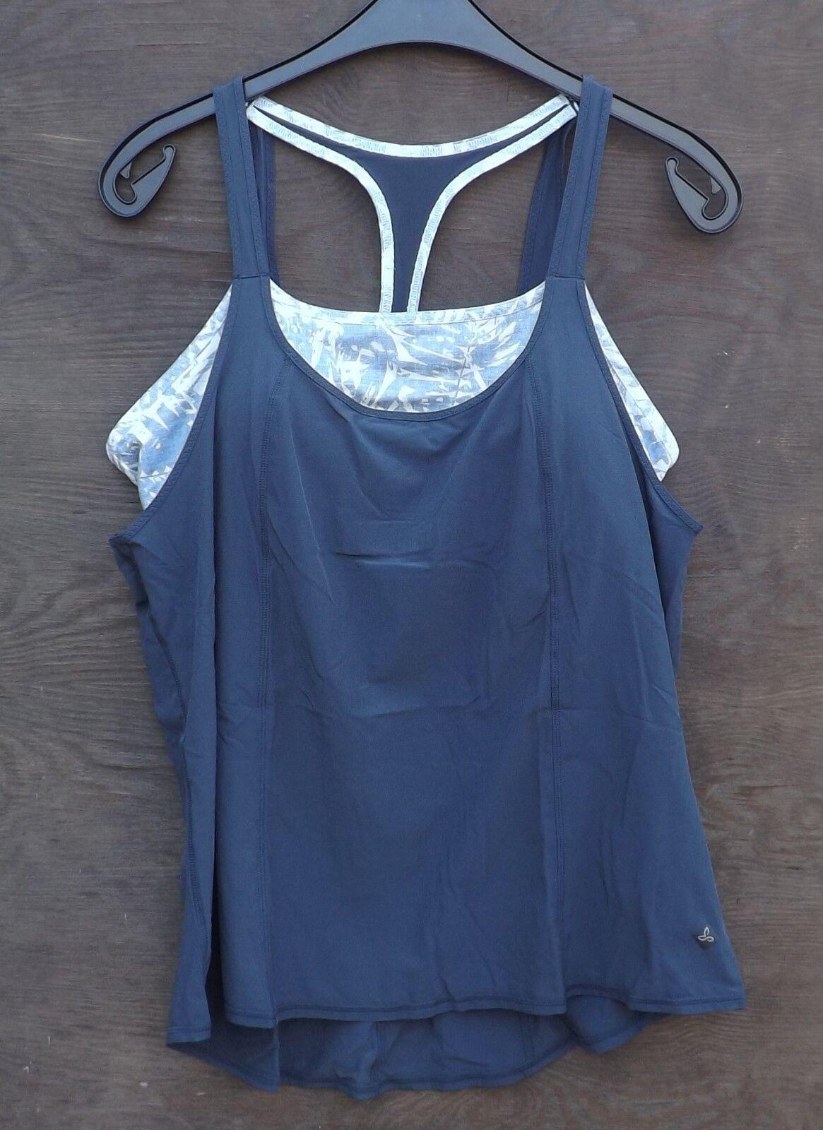 Prana Sway pacifica; Tank; Blau pacifica; Sway Damentop; Klettertop, Yoga 90680a