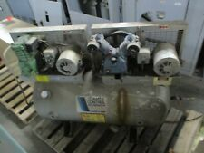 Ingersoll Rand 2 Stage Air Compressor 2 Ca2c7 34hp X 2 150psi 208 230460v Used