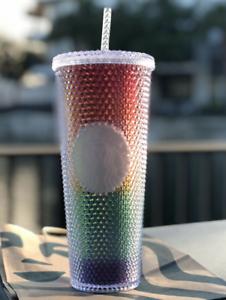 Starbucks-2020-Pride-Summer-Studded-Rainbow-24-Oz-Cold-Tumbler-Free-Shipping