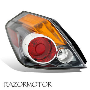 2007-2012  Driver Replacement Tail light For Nissan Altima Sedan 4 Door w/Bulb