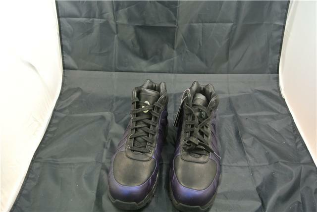 NIKE FOAMPOSITE TRAINERS Taille RARE 10chaussures Violet/noir SPECIAL EDITION RARE Taille 299e23