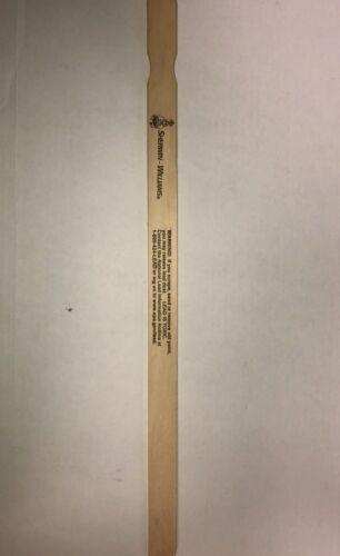 "Paint stir sticks 21/"" X 1//4/"" Thickness paddles lot of 25 paint mixing sticks"