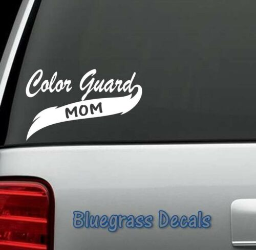 A1056 Color Guard Colorguard DECAL STICKER Car Truck SUV 4X4 Van BOAT WALL ART