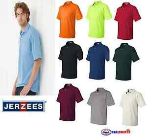 ef6a469af9c JERZEES - SpotShield™ 50/50 Sport Shirt with a Pocket - 436MPR S-5XL ...