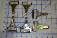 """6 steel cadmium coated made for 1 3/4"""" webbing light duty clip into Drings latch"""