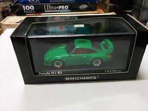 MINICHAMPS-PORSCHE-911-RS-1995-GREEN-1-43-430065106