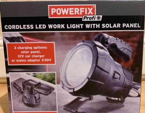 Powerfix Cordless Led Work Light With Solar Panel
