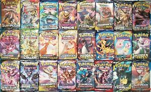 Pokemon-TCG-3-Booster-Packs-Lot-10-Cards-in-Each-Pack-from-different-sets